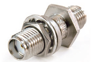 232-510SF - SMA Female (Jack) to  Female (Jack) - Bulkhead Adapter