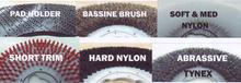 Types of Brush Fibres