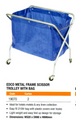 Edco Scissor Waste Trolley