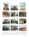 Buffalo Icons Restaurants Print