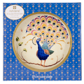 Peacock Fantasy Feminine Footed Mug Pink. Featuring peacocks and paisley patterning, this stunning new collection of fine bone china, coasters, placemats and trays is sure to impress. Peacocks Fantasy exudes both opulence and elegance, whilst still being a range that is both on trend and affordable.   Bone China  Size H 110 x W 75 mm  Gift Boxed