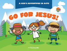 Acts Go for Jesus SK Curriculum USB