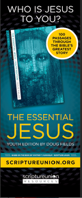 Essential Jesus Youth Edition Banner w/Free Stand