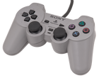 Playstation 1 OEM DualShock Controller - Used (Grey)