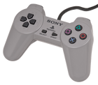 Playstation 1 OEM Controller - Used (Grey)