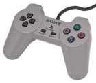 PlayStation Controller (Gray) - PS1