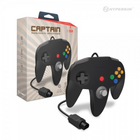 """Captain"" Premium Controller for N64 - Black"