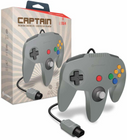 """Captain"" Premium Controller for N64 - Gray"
