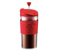 Bodum Doubled Walled Plastic Travel Press -  Red