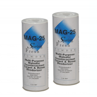 Mag 25 is a carpet and room deodorizer.