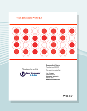 Using an intuitive two-dimensional model, the Team Dimensions Profile 2.0 helps individuals discover what they contribute to group projects and how they can thrive in team settings. Furthermore, the report offers personalized feedback on the respondent's strengths and challenges when working as part of a team, and it presents information on what people of different roles may contribute to the group as well.