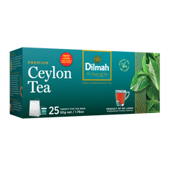 Dilmah Premium  - 25 String and Tag Tea Bags