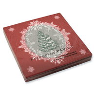 Beau Sapin Red Dinner Napkin