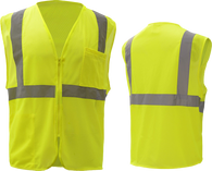 Class 2 Safety Vest w/ Zipper