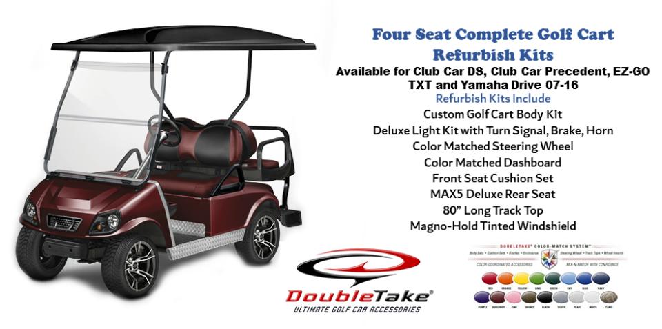 Four Seat Golf Cart Refurbish Kit