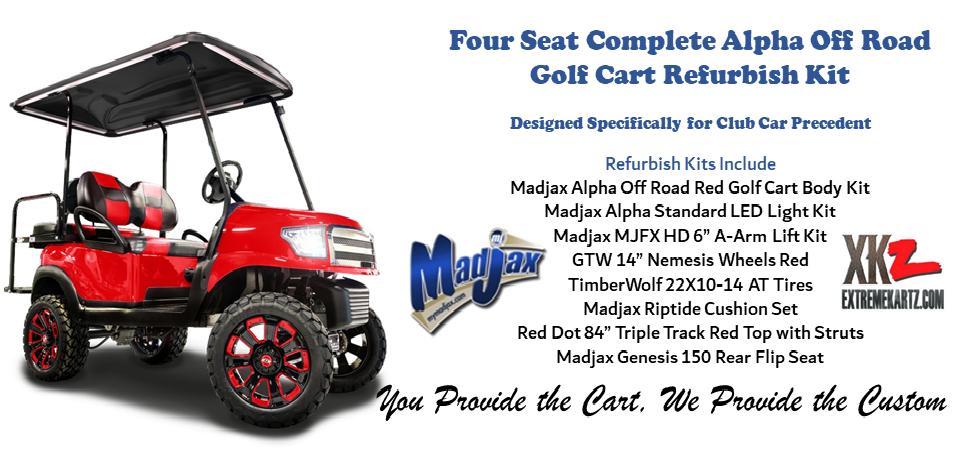 Madjax Alpha Off Road complete Golf Cart Refurbish Kit