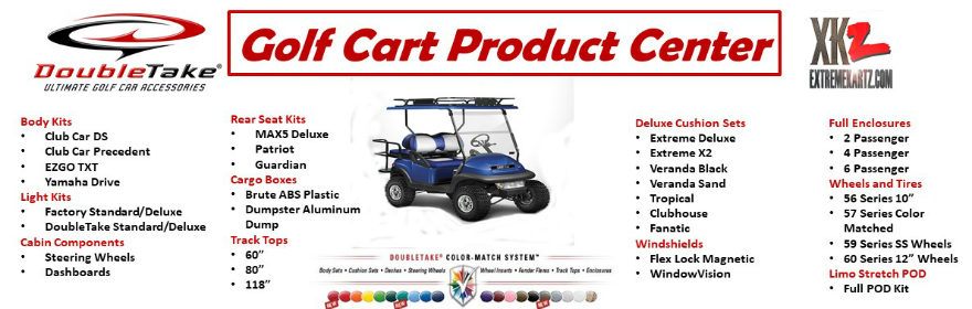 ExtremeKartz.com | Golf Cart Parts and Accessories | DYI Home on club car accessories catalog, club car transporter 4, club car parts catalog, club car precedent rain enclosure, golf cart accessories catalog, ez go accessories catalog, club car lift kit 2, yamaha golf cart parts catalog,