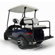 GTW Steel Rear Flip Seat for Yamaha Drive2 Gray