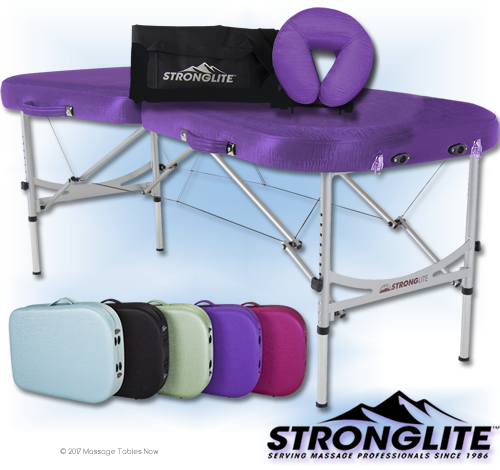 stronglite prima lightweight massage table