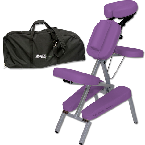 Custom Craftworks Portable Melody portable massage chair-with bag