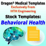 Behavioral Health Templates for Dragon Medical Practice Edition 2.3