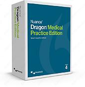 Dragon Medical Practice Edition 4 box.