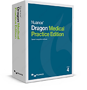Dragon Medical Practice Edition 4 box.