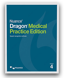 Dragon Medical Practice Edition 4 box