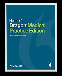 Dragon Medical Practice Edition 4 box