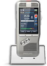 Philips DPM-8000 Digital Dictation Recorder.