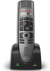 Philps SpeechMike Premium Air SMP4000 wireless microphone.