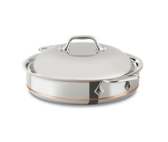 All-Clad Copper Core Sauteuse with lid