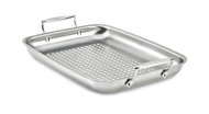 "All-Clad Outdoor Stainless 15"" x 11"" Roaster"