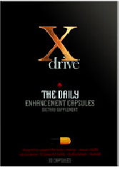 DreamBrands Xdrive for Men Daily Enhancement Capsules (30 day supply / 30 capsules)
