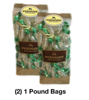 Perugina Glacia Mint Hard Candies (2) 1 Pound Bags