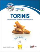 Asturi Torinis Classic Olive Oil (Pack of 12) 3.53oz bags