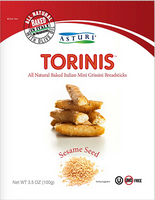 Asturi Torinis Seasame Seed (Pack of 12) 3.53oz bags