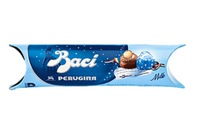 Perugina Baci Milk Chocolate Tube 1.5oz (3pc)