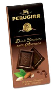 Perugina Dark w/Almonds Chocolate Bars 3.5oz