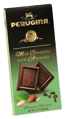 Perugina Milk Chocolate with Almonds Bars 3.5oz