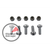 Chrome Front Brake Disc Bolt Kit