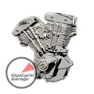 Shovelhead Engine / Motor Lapel Pin