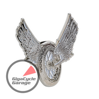 Winged Wheel Lapel Pin