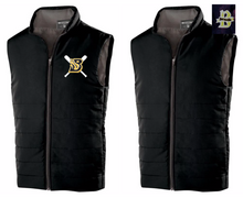 BSB01L - BLACK Holloway Unisex Quilted  Vest with CHOICE of Embroidered Logo