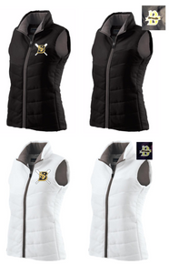 BSB01M - Holloway LADIES Quilted  Vest with CHOICE of Embroidered Logo