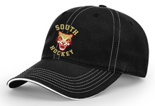 LSH12- Richardson Black  Baseball Cap with South Hockey Logo