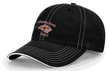 BAND20 Richardson Black Baseball Cap with Embroidered Lakeville South BandLogo