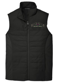 Port Authority ® (UNISEX) Collective Insulated Vest (BLACK) with embroidered left chest logo