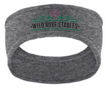 Port Authority® R-Tek® Stretch Fleece Headband with embroidered Wild Rose logo