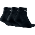 Nike Dri-FIT Quarter Socks 3 Pack-Black